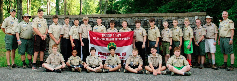 Image of Scouts in BSA Troop 1147